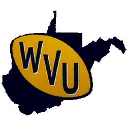 West Virginia Mountaineers Primary Logo 1970 - 1979