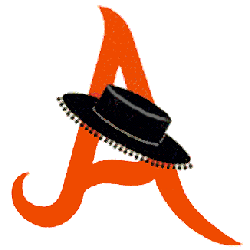 Anaheim Amigos Alternate Logo 1967 - 1968