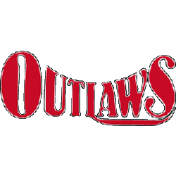 Arizona Outlaws Wordmark Logo 1985