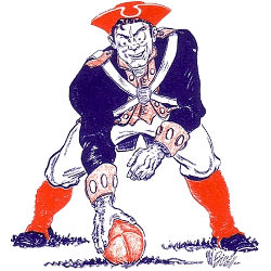 Boston Patriots Primary Logo Sports Logo History