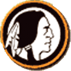 Boston Redskins Primary Logo 1933 - 1936