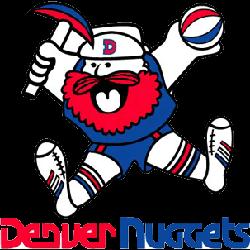 Denver Nuggets Primary Logo 1976 - 1981