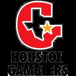 Houston Gamblers Alternate Logo 1984 - 1985