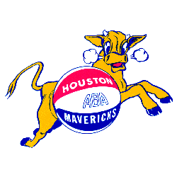 Houston Mavericks Primary Logo 1968 - 1969