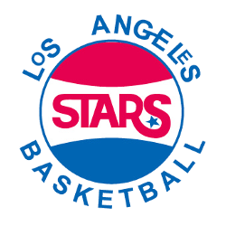 Los Angeles Stars Alternate Logo 1969 - 1970