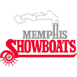 memphis-showboats-wordmark-logo-1984-1985