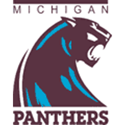michigan-panthers-alternate-logo-1983-1984