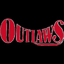 Oklahoma Outlaws Wordmark Logo 1983 - 1984