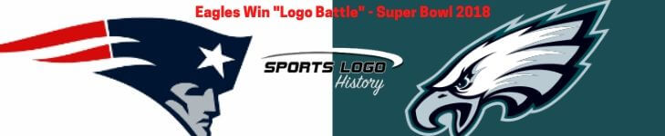 Super Bowl Eagles vs Patriots Logo - Sports Logo