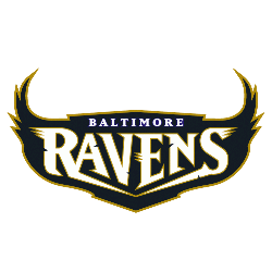 Baltimore Ravens Wordmark Logo 1996 - 1998