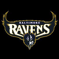 Baltimore Ravens Wordmark Logo 1996 - 1998