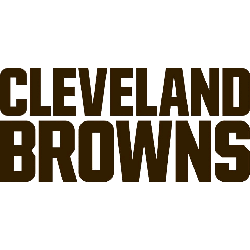 Cleveland Browns Wordmark Logo 2015 - Present