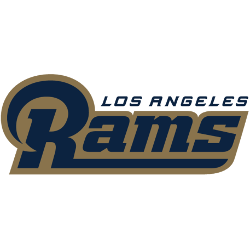 Los Angeles Rams Wordmark Logo 2016