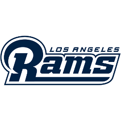 Los Angeles Rams Wordmark Logo 2017 - Present