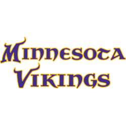 Minnesota Vikings Wordmark Logo 2004 - Present