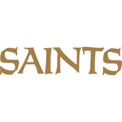 New Orleans Saints Wordmark Logo 1967 - Present
