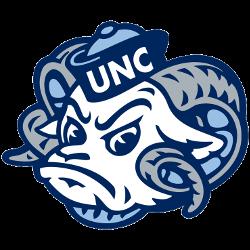 North Carolina Tar Heels Secondary Logo 1999 - 2014