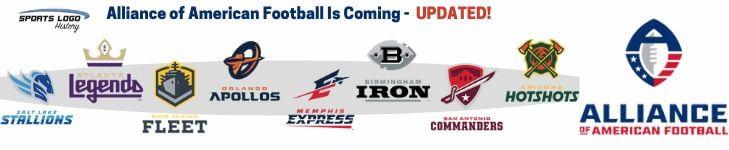 AAF Update - Sports Logo