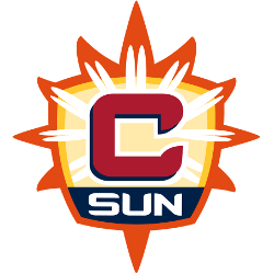 Connecticut Sun Alternate Logo 2015 - Present