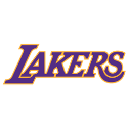 Los Angeles Lakers Wordmark Logo Sports Logo History