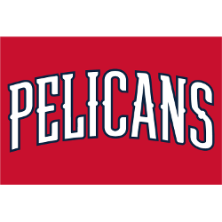 New Orleans Pelicans Wordmark Logo Sports Logo History