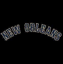 New Orleans Pelicans Wordmark Logo 2015 - Present