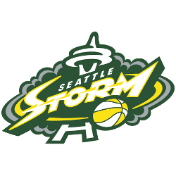 Seattle Storm Primary Logo 2016 - Present