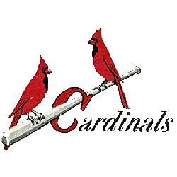 St. Louis Cardinals Wordmark Logo 1949 - 1950