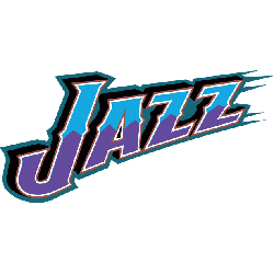 Utah Jazz Wordmark Logo 1996 - 2003