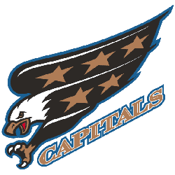 Washington Capitals Wordmark Logo 1998 - 2007