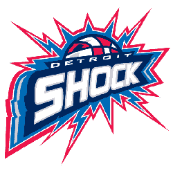 Detroit Shock Primary Logo 2003 - 2009