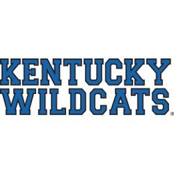 Kentucky Wildcats Wordmark Logo 1989 - 2004