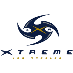 Los Angeles Xtreme Alternate Logo 2001 #2