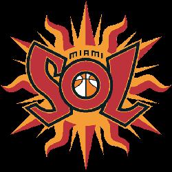 Miami Sol Primary Logo 2000 - 2002