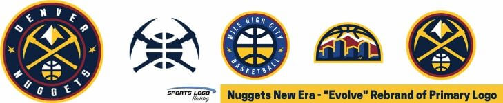 Denver Nuggets New Logo - Sports Logo