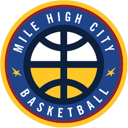Denver Nuggets Alternate Logo 2019 - Present