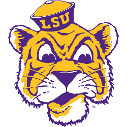 LSU Tigers Primary Logo 1955 - 1966