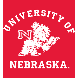Nebraska Cornhuskers Alternate Logo 1951 - 1963