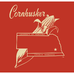 Nebraska Cornhuskers Alternate Logo 2000