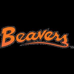 Oregon State Beavers Wordmark Logo 1979 - 1996