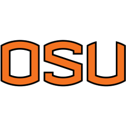 Oregon State Beavers Wordmark Logo 2007 - 2012