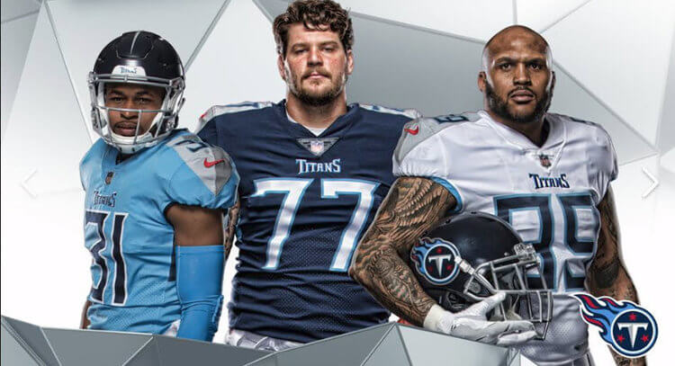 Tennessee Titans Uniforms 2018
