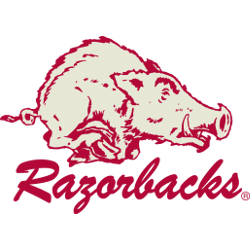 Arkansas Razorbacks Alternate Logo 1964 - 1972