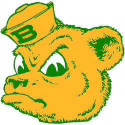 Baylor Bears Primary Logo 1969 - 1996