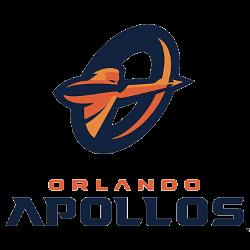 Orlando Apollos Primary Logo 2018 - 2019