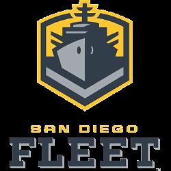 San Diego Fleet Primary Logo 2018 - 2019