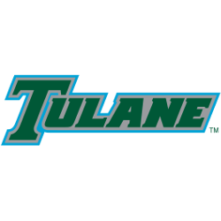 Tulane Green Wave Wordmark Logo 1998 - 2013
