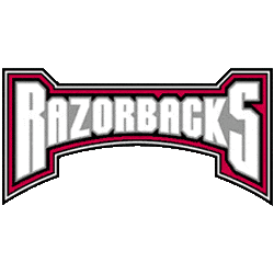Arkansas Razorbacks Wordmark Logo 2001 - 2008