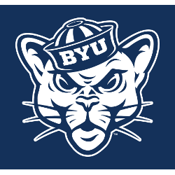 BYU Cougars Alternate Logo 2015 - Present