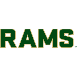 Colorado State Rams Wordmark Logo 2015 - Present